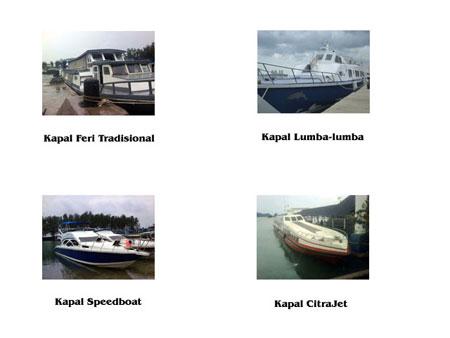 Transportasi kapal ke Pulau Tidung