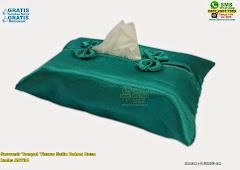 Souvenir Tempat Tissue Satin Dalam Busa