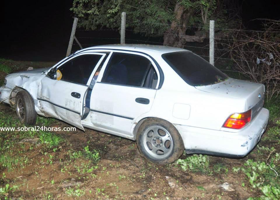 Sobral-Ce: capotamento durante tentativa de assalto!.