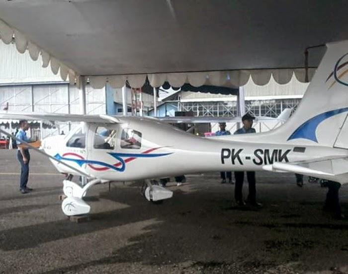 Jabiru J430 buatan SMK 12 Bandung