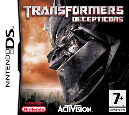 descargar Transformers Decepticons para nintendo ds