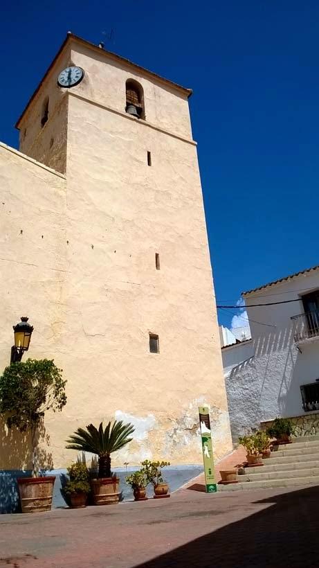 Un pueblo tranquilo de Almería