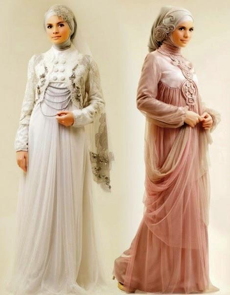 Gambar Model Kebaya Muslim Terbaru 2015
