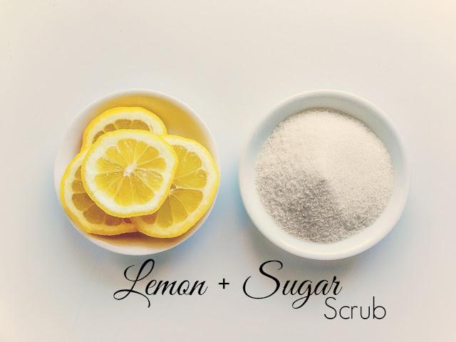 DIY | Lemon And Sugar Scrub