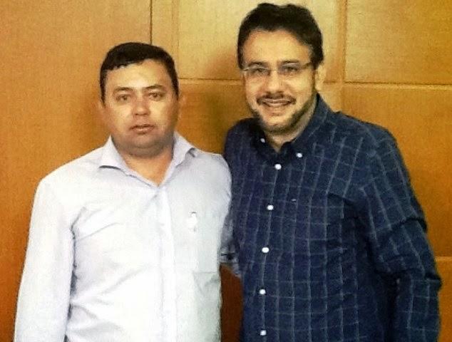 Prefeito Zé Arnaldo na Capital em busca de parcerias com o Governo do Estado
