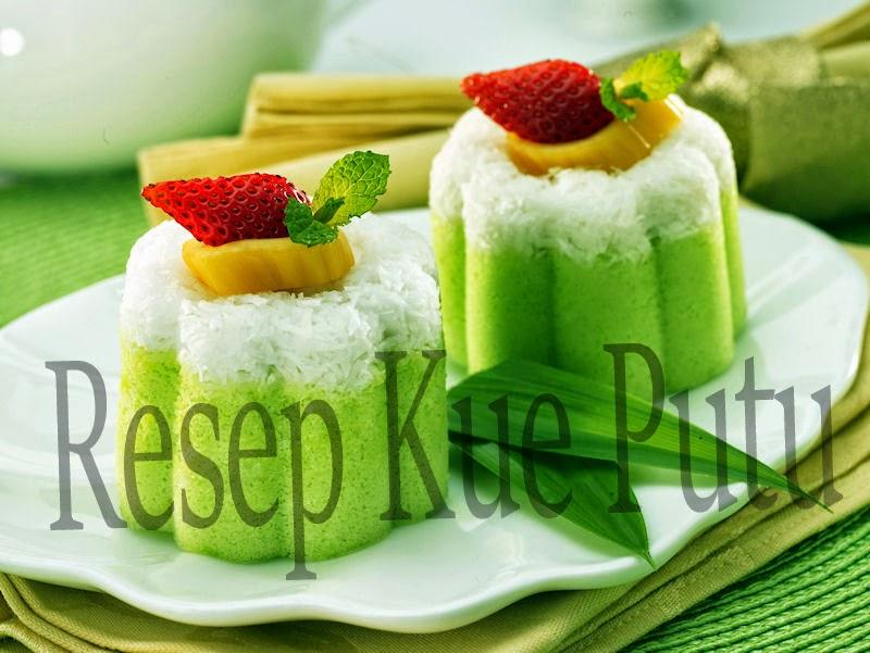 Resep Kue Putu Tepung Beras Terbaru | Resep Kue dari bahan tepung beras