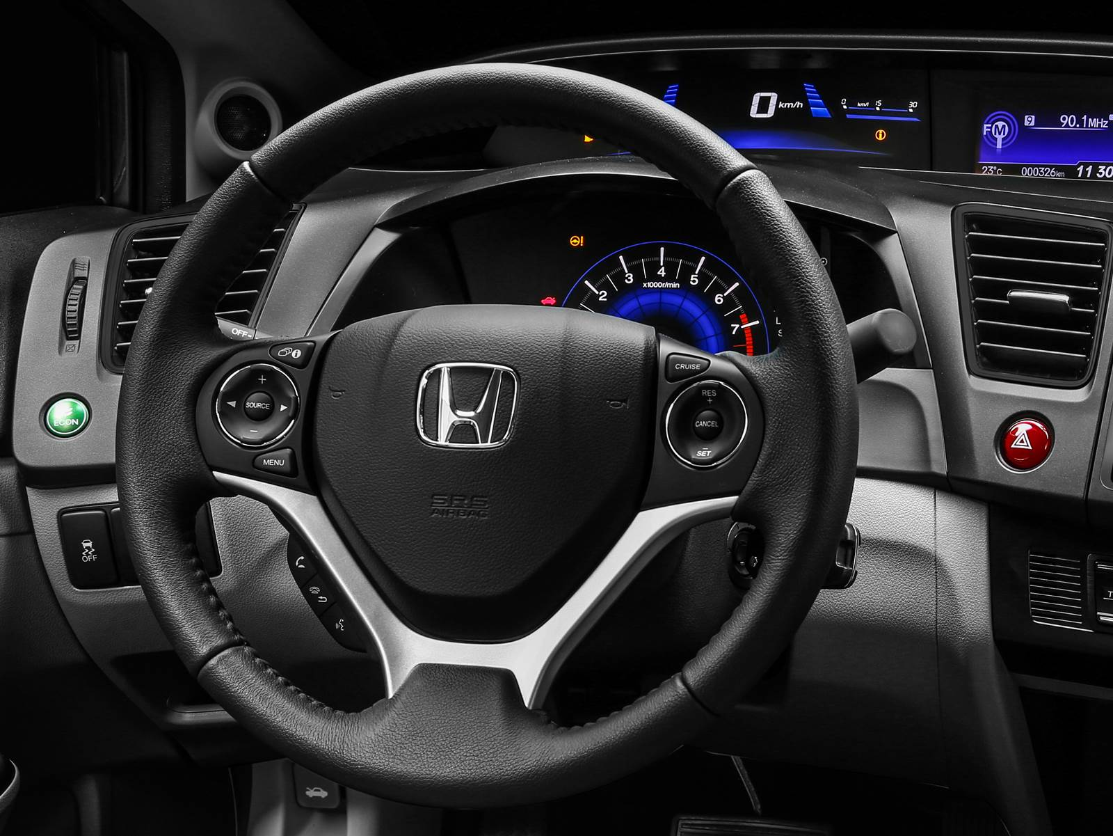 Novo Honda Civic 2016 - interior