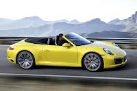 Porsche 911 Carrera 4S Cabriolet (2016) Side