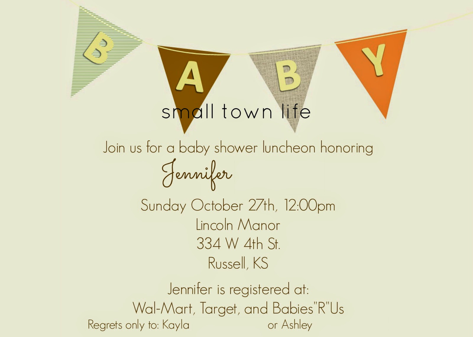 gender neutral, fall baby shower, pumpkins, rustic shower, invitation