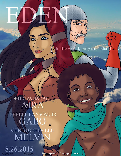 Eden, Gabo, Aira and Melvin