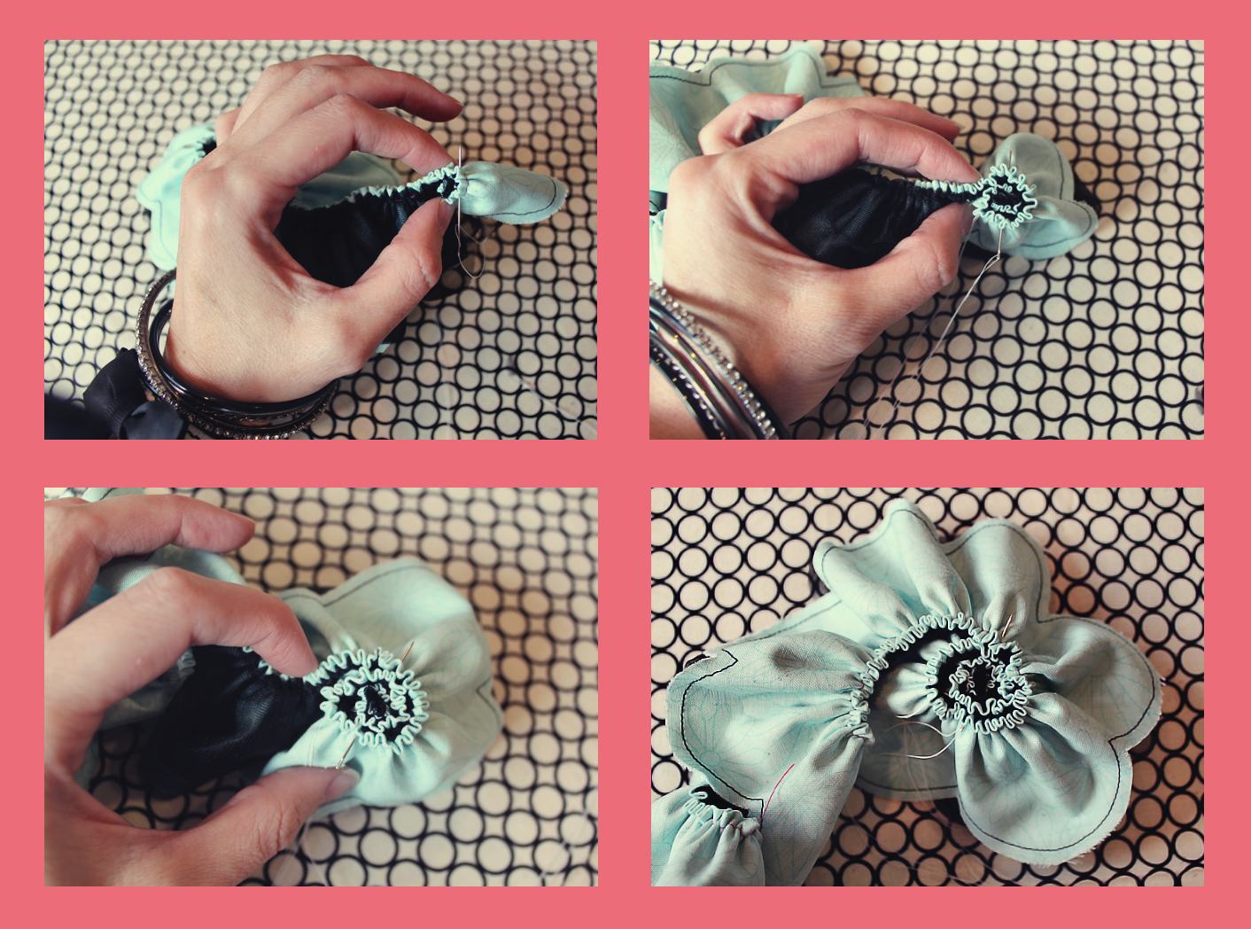 Как сделать броши цветы из ткани своими  923