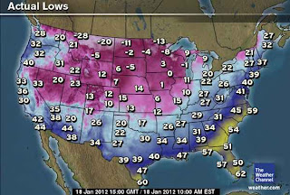 >Frigid Arctic Air Freezes Canada, N. USA, Potentially Historic Snowstorm For Seattle