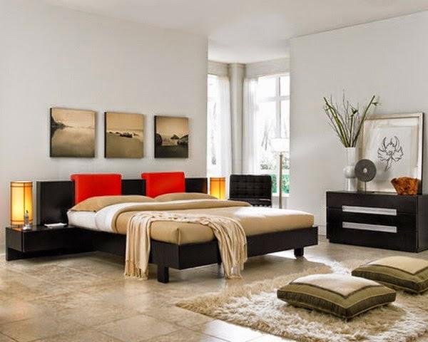 petite chambre moderne. Black Bedroom Furniture Sets. Home Design Ideas