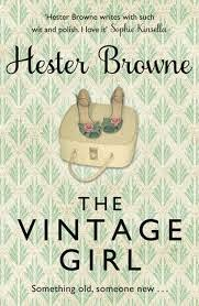 Uk book cover of The Vintage Girl by Hester Browne