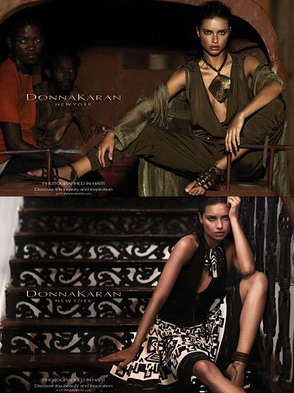 Donna Karan ad campaign spring 2012