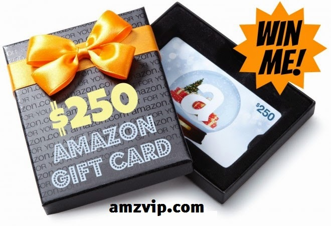 Enter the AmzVIP $250 Amazon Gift Card Giveaway
