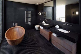 Black Interior Design Bathroom Photos Ideas