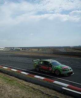 PEPSI MAX SPONSORED RACE CAR