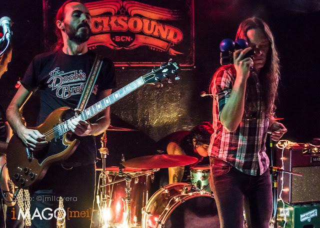 69 Revoluciones - Rocksound, Barcelona 12-12-15