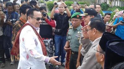 Pj Gubernur Jambi Tiba di Kerinci, Dijadwalkan Akan Meninjau ke Lokasi Kebakaran Lempur