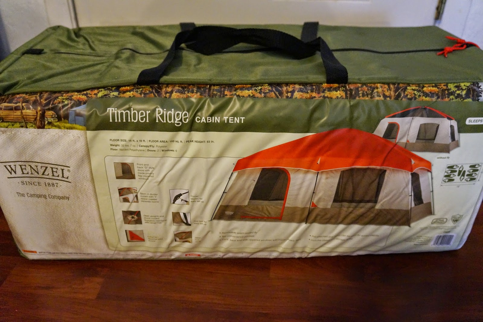 If you are shopping for an outdoorsy man you already know why a tent would make a great gift for him but this is not a tent it is the tent. & Andreau0027s World Reviews: Christmas Wishes - Wenzel Timber Ridge ...