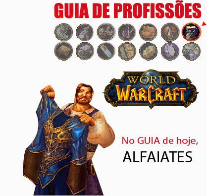 Onde achar linho seda lã no wow (world of warcraft) - Guia #01 Alfaiates