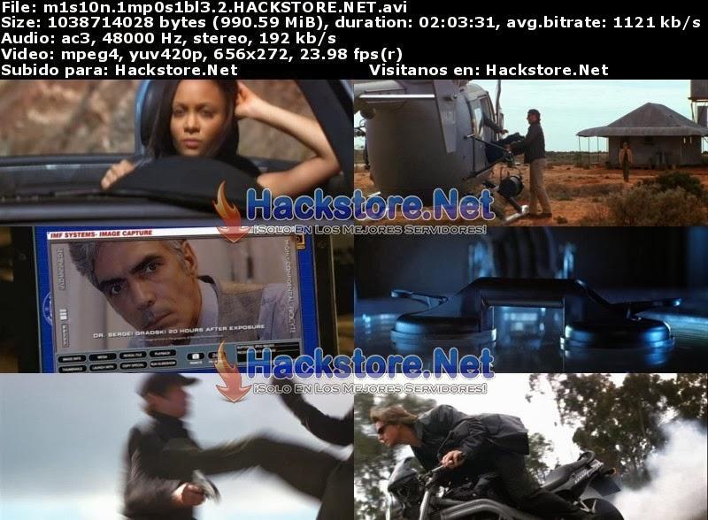 Captura Mision Imposible 2 (2000) DVDRip Latino