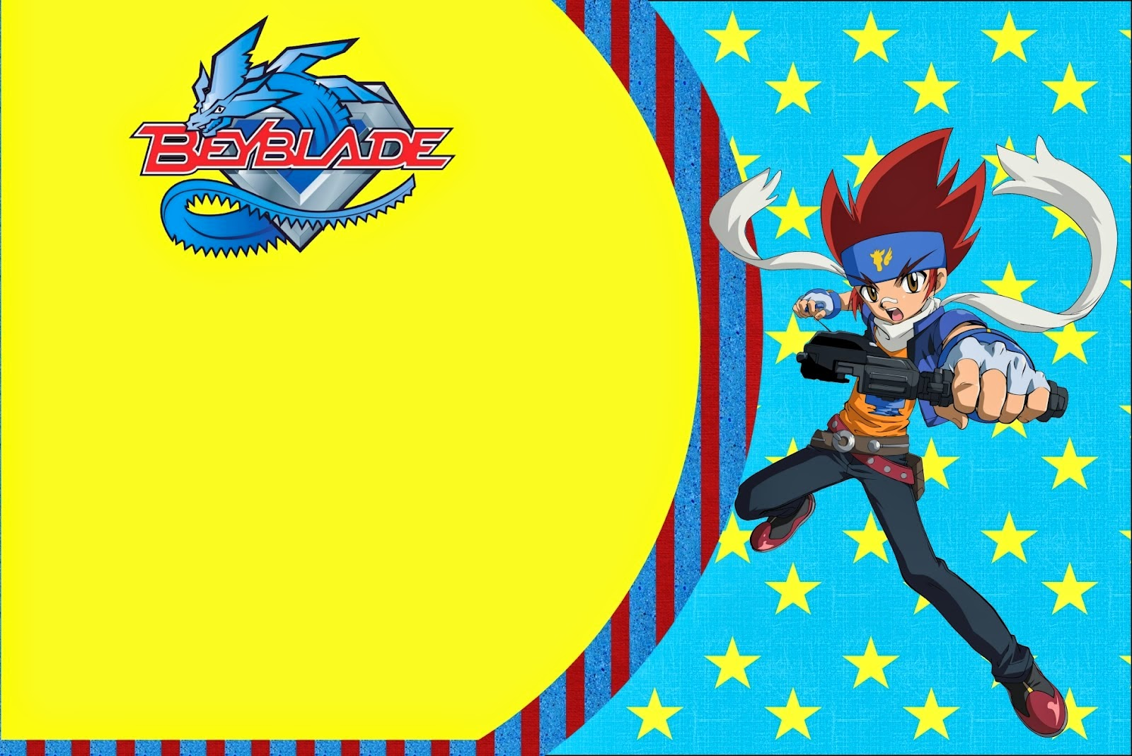 Beyblade Free Printable Invitations Oh My Fiesta For