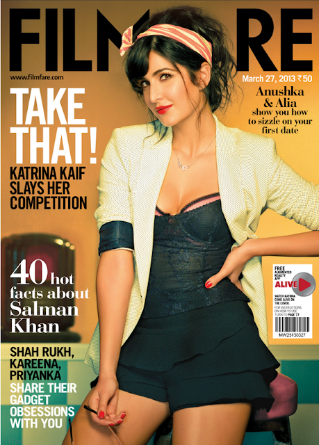 Katrina's Hot Photo Shoot for Filmfare Magazine