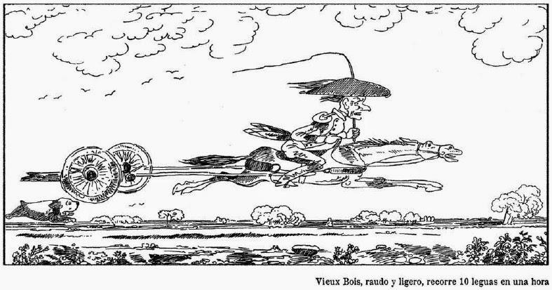 Las aventuras de Monsieur Vieux Bois