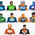 Social superheros icons pack