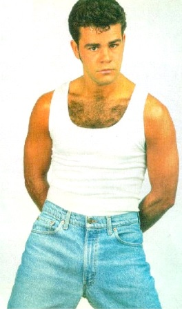 Eduardo Capetillo de joven