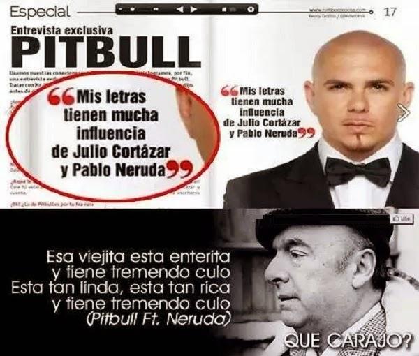 Entrevista a Pitbull