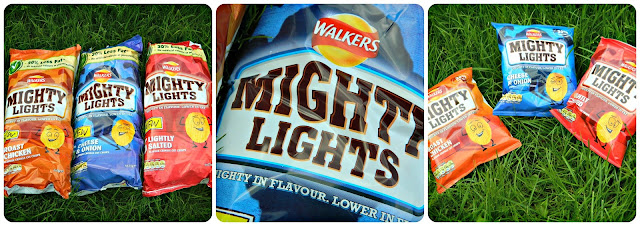 Walkers Mighty Lights Multipacks and individual bags