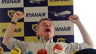 O'Leary siempre con la polémica