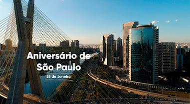 Hoje é o Dia do Aniversário de São Paulo - 467 anos