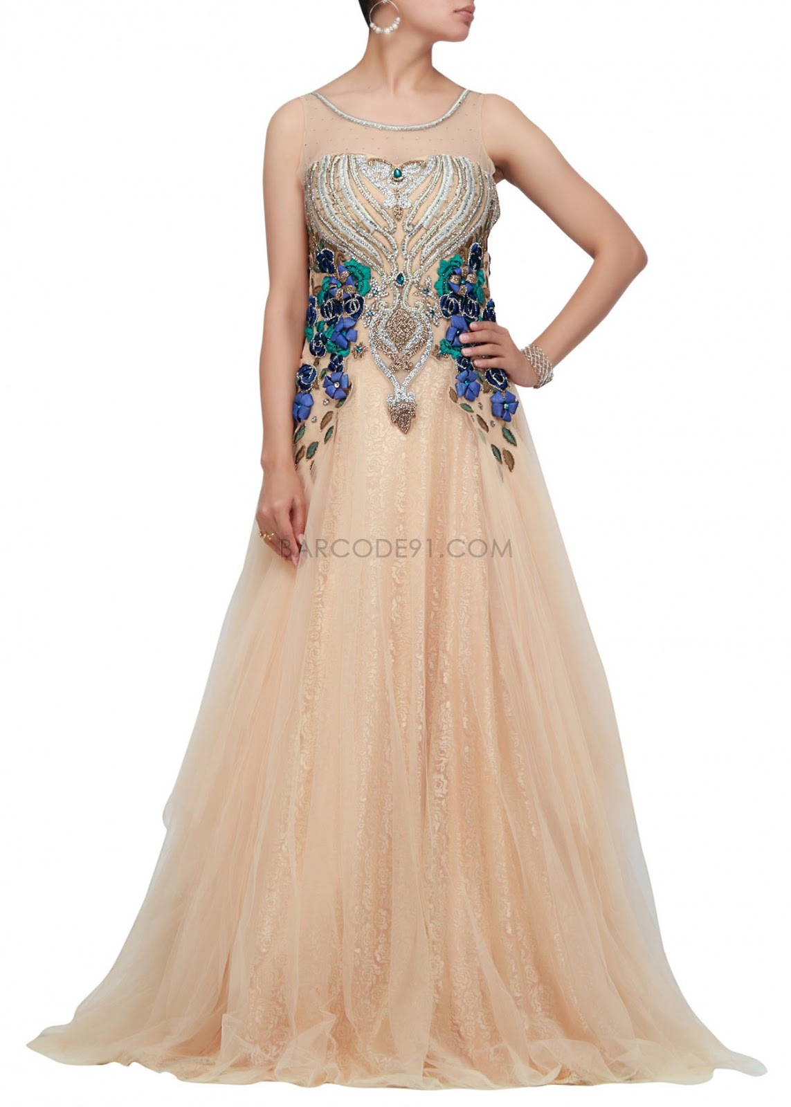 Indowestern Gowns/Lehengas | Latest Fashion Today