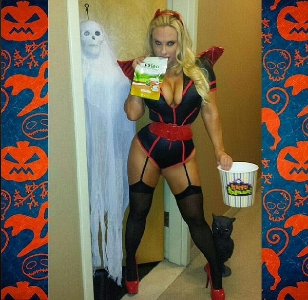 hot Coco Austin in 2014 Halloween Costume