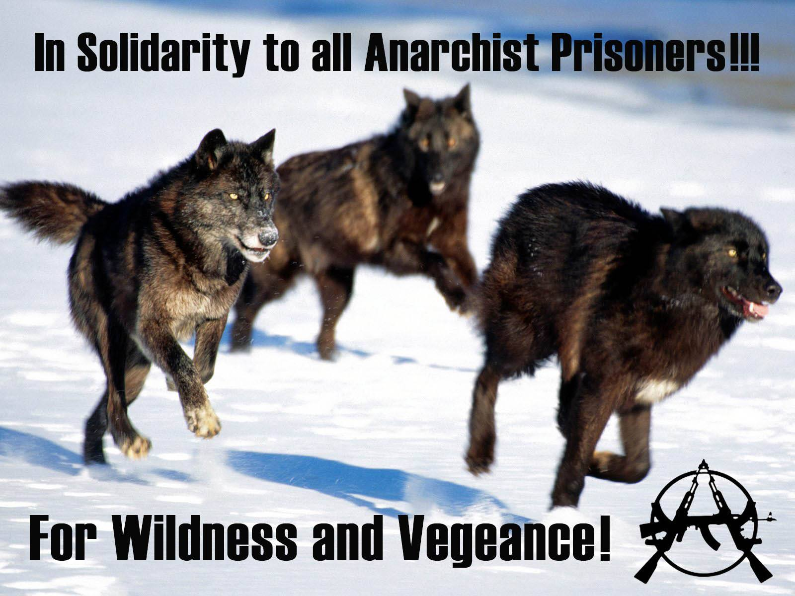 In Solidarity To All Anarchist Prisoners!! For Wildness & Vengeance!