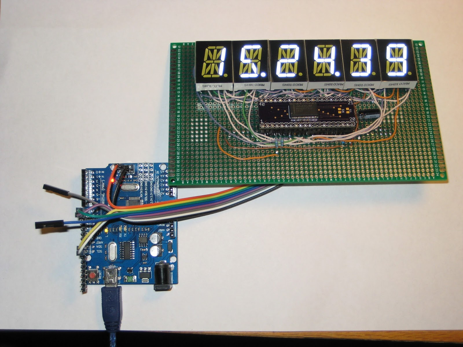 Posts With 7 Segment Led Label Arduino Display Wiring On Circuit Diagram