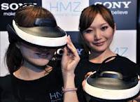 Gadget untuk Bermain Game Sony HMZ-T2