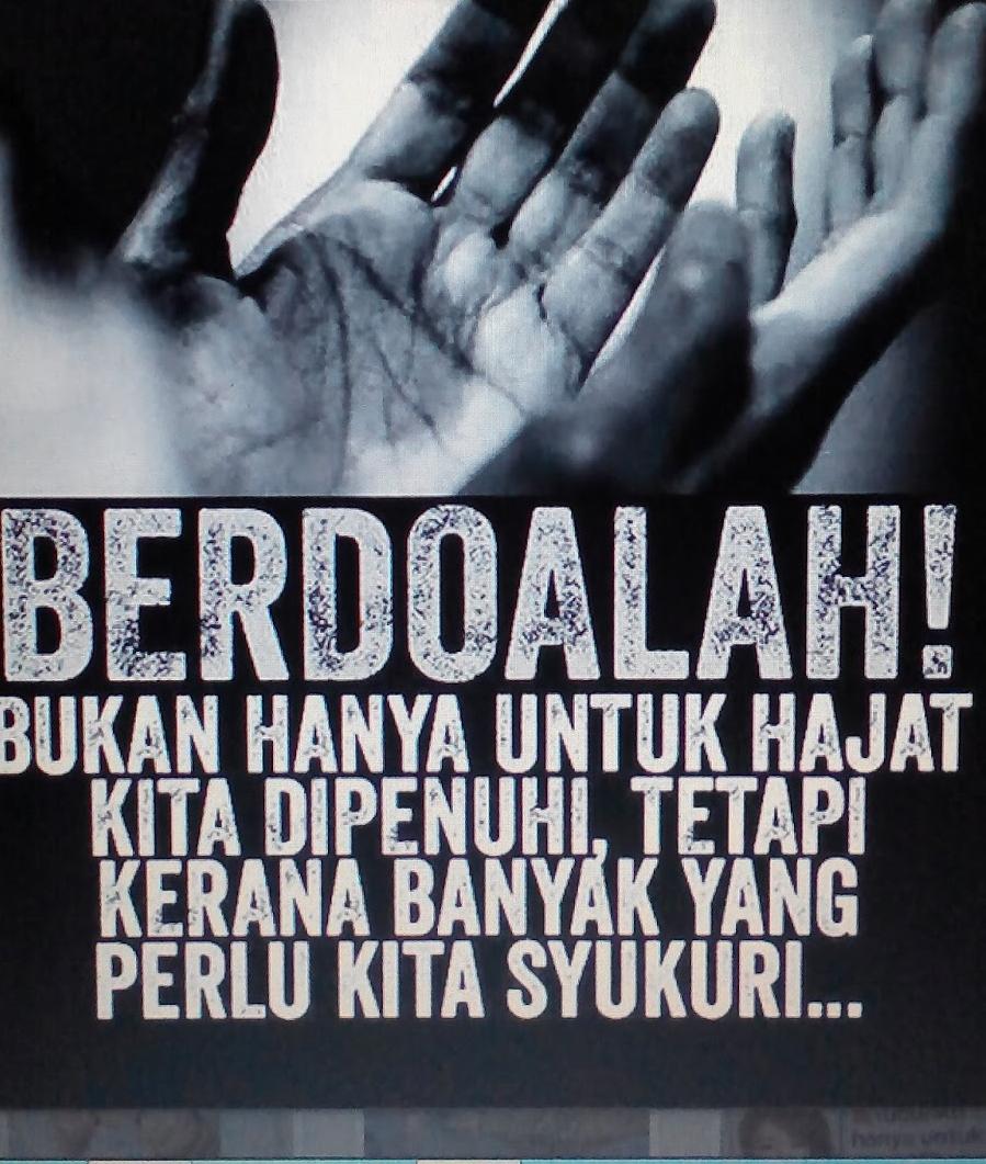 Doa Tanda Kesyukuran