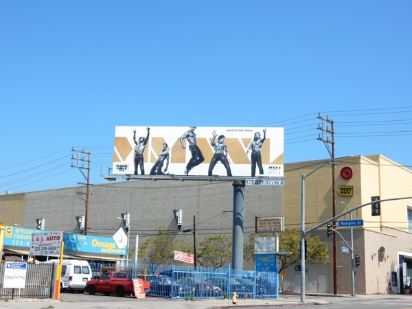 Magic Mike XXL billboard