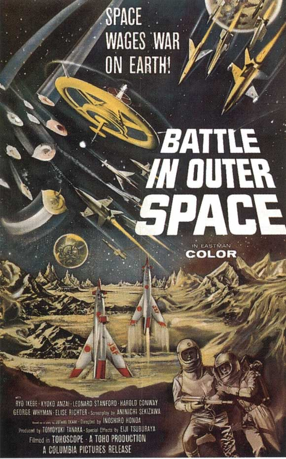 Battle in Outer Space (Batalla en el Espacio Exterior) (V.O.) (1959)