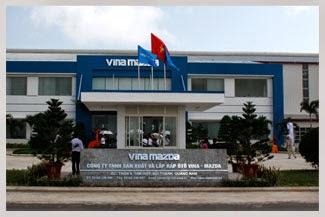 Nhà máy Vina Mazda| Nhà máy lắp ráp Mazda Chu Lai| Khu lắp ráp ô tô Chu lai