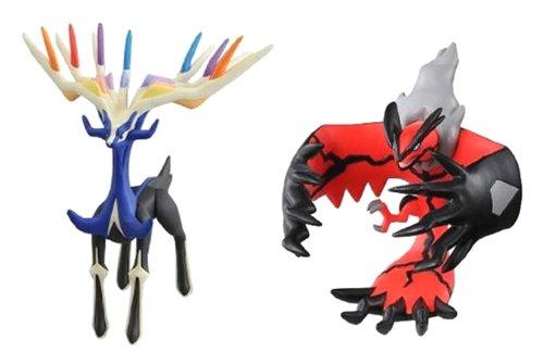 Xerneas And Yveltal Pokemon figure yveltal xerneas