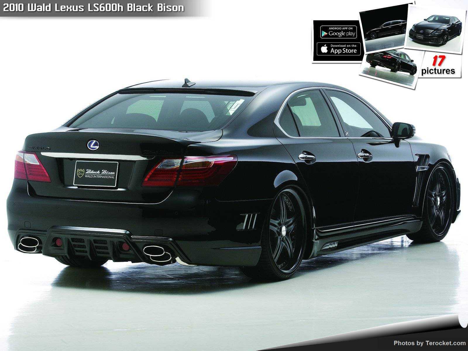 Hình ảnh xe độ Wald Lexus LS600h Black Bison 2010 & nội ngoại thất