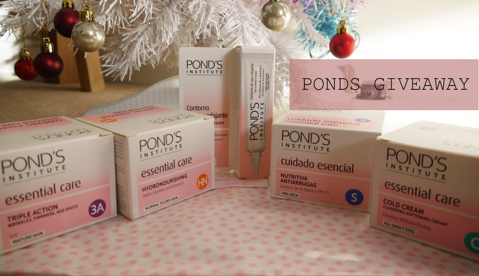 GIVEAWAY! PONDS INSTITUTE COLLECTION
