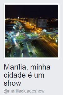 Marília Minha Cidade é um Show