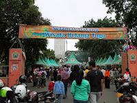 Pasar Belanja Tugu Wisata Kuliner Minggu Jalan Semeru Kota Malang